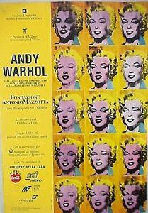 MANIFESTO-ANDY-WARHOL-MULTI-MARILYN-MONROE-PER-MOSTRA-ANDY-WARHOL-anni-90