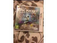 Epic Mickey power of illusion 3Ds game