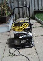 Used Max Air 4 gallon portable electric air compressor