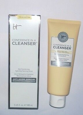 IT Cosmetics Confidence In A Cleanser Hydrating Cleansing Serum - 5 oz - NIB
