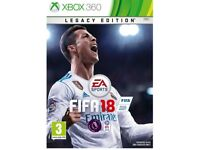Brand new fifa 18 Xbox 360 game