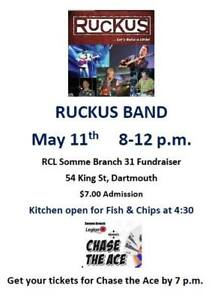 Ruckus Band at the Somme Legion