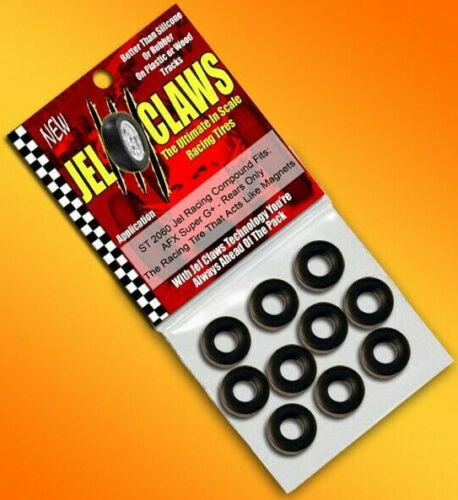 Jel Claws Rear HO 1/64 Slot Car Tires - AFX Super G+ ST-2060