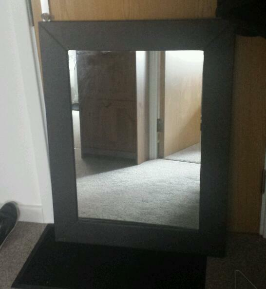 Brown Faux Leather Mirror Large Faux Leather Mirror