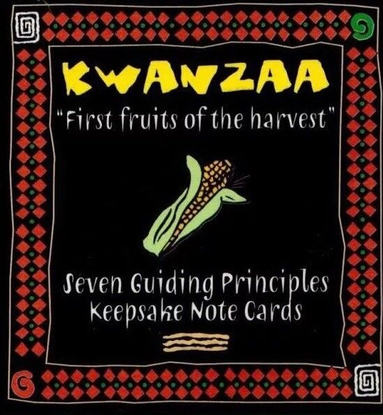 Kwanzaa Holiday Keepsakes (6 boxes) Great for Classroom or Stocking Stuffers