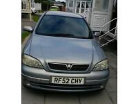 Vauxhall astra auto 1.8