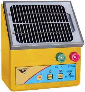 NEW 2.5km SOLAR Powered Electric Fence ENERGISER Charger Thunderbird S26B Farm