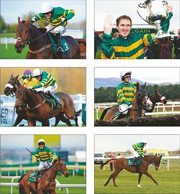 Tony McCoy 4000 wins Horse Racing Legend POSTCARD Set