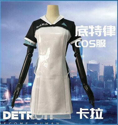 Detroit: Become Human KARA Code AX40 einheitliche cosplay kostüm frauen - Einheitliche Kostüm