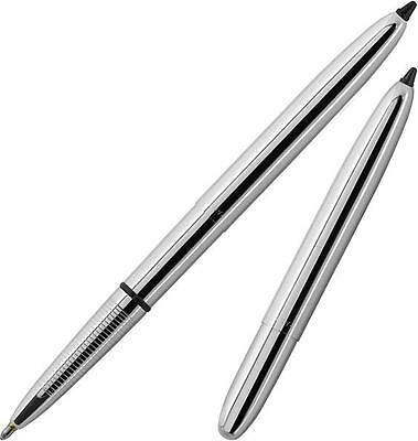 Fisher Chrome Bullet Space Pen With Hard Stylus Moonscape Gift Boxed 400/S