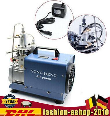 Electric Pcp Air Compressor 40mpa 4500psi Scuba Diving Air Pump High Pressure