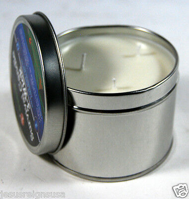Emergency Survival Candle 3 Wick 36 Hour Wilderness Outdoor Heat Tin Camping box