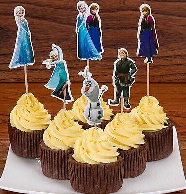 n cupcake Wrapper Muffinförmchen Halloween, Elsa & Anna (Dekoration Halloween Cupcakes)