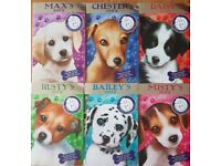 Battersea Dog and Cat home puppy books. Age 5+ Set of 6 paperbacks