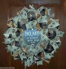 DECO MESH Wreath Door Décor