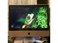 """Apple iMac A1225 1Tb HDD 4GB Ram 24""""inch Completely Cleaned Refurbished PC Computer"""