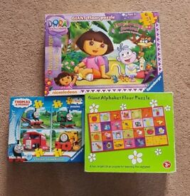 Toddlers Puzzles x3 (18+ months)