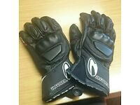 Richa WSS leather motorcycle gloves size 10 like new