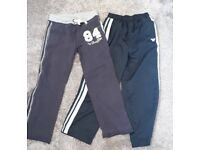 Boys tracksuit / jogging bottoms. Age 7-8. Duffer and Cherokee