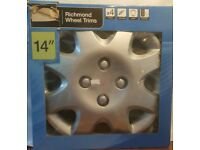 wheel trims 14inch new and boxed