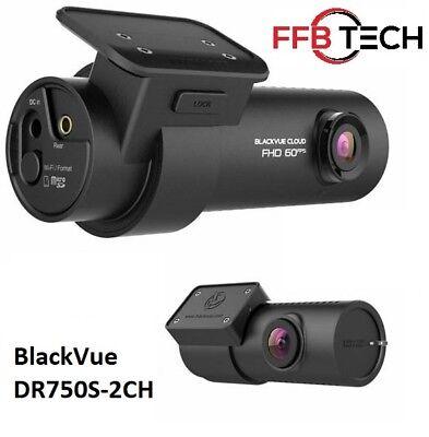 BlackVue 2 Channel DR750S-2CH HD WiFi GPS 32GB Dash cam (Authorized Dealer)