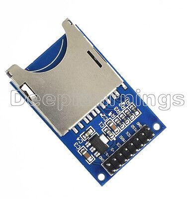 5 Pcs Sd Card Module Slot Socket Reader For Arduino Arm Mcu Read And Write
