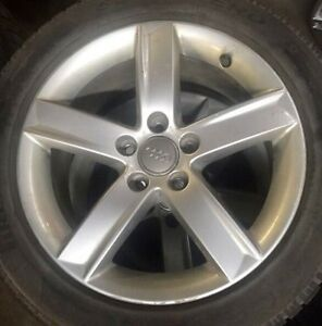 Audi A4 winter wheel and tire package
