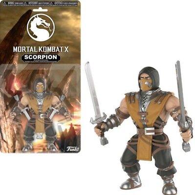 X SCORPION Figur ca. 14 cm Groß NEU (Mortal Kombat Scorpion)