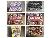 Puzzles / games mix price