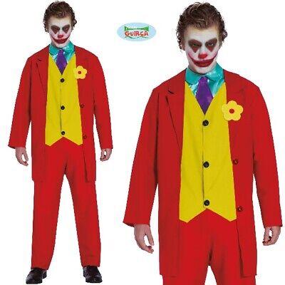 Herren Herr Smile Bösewicht Kostüm Kostüm Herren Joker - Rote Bösewicht Kostüme