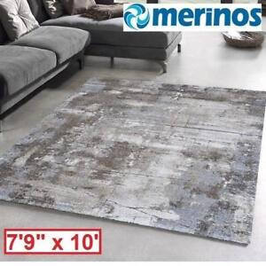 "NEW MERINOS GREY IBIZA AREA RUG MCI810GRY 191068639 7'9"" x 10' MULTI COLOUR RUGS FLOORING DECOR ACCENTS CARPET CARPET..."