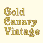 Gold Canary Vintage