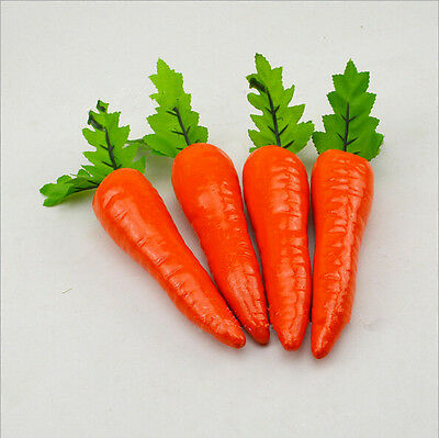 1pc Carrot Decorative Table Plastic Hot Vegetable Home Decoration Food