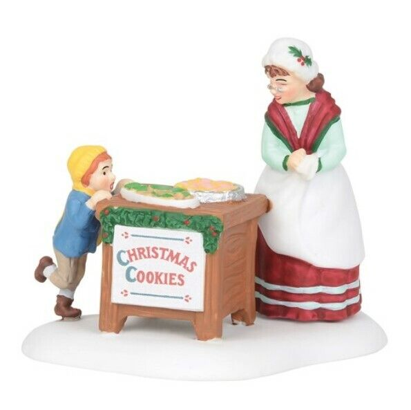 Dept 56 New England Village Christmas Cookie Special 6003104 BRAND NEW Free Ship