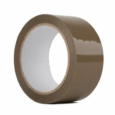 6 Rolls-2x110 Yards330 Ft Brown Carton Sealing Packing Packaging Tape