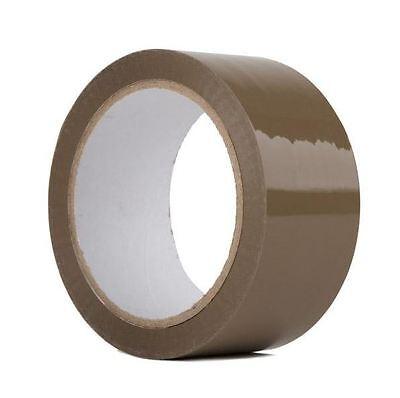 2x110 Yards330 Ft Brown Carton Sealing Packing Packaging Tape