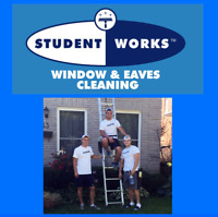Window and Eaves Cleaning job for students