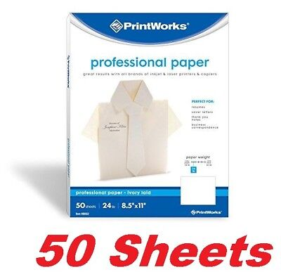 Printworks Professional Printing Paper For Resumes Business Letters Laserinkjet
