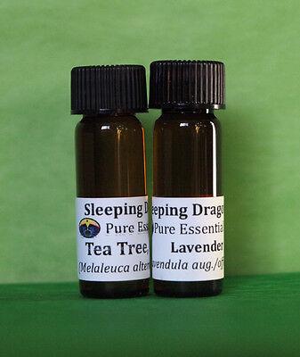 Essential Oils FIRST AID SET 100% pure Lavender, Tea Tree bug bites scraps burns