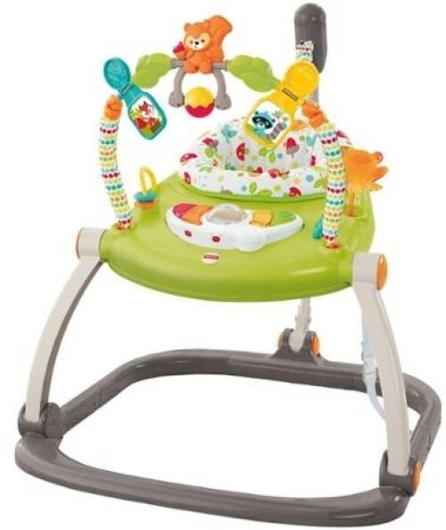 Fisher-Price Colourful Carnival SpaceSaver Jumperoo. Hardly used @ great price!!