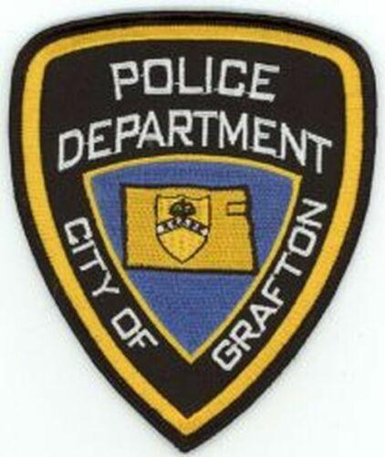 GRAFTON POLICE NORTH DAKOTA NICE COLORFUL PATCH SHERIFF