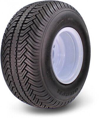 Golf Cart Tires Wheels Set Carts Tire Kit 18 x 8.50-8, 4 Lug, 4 Ply DOT White