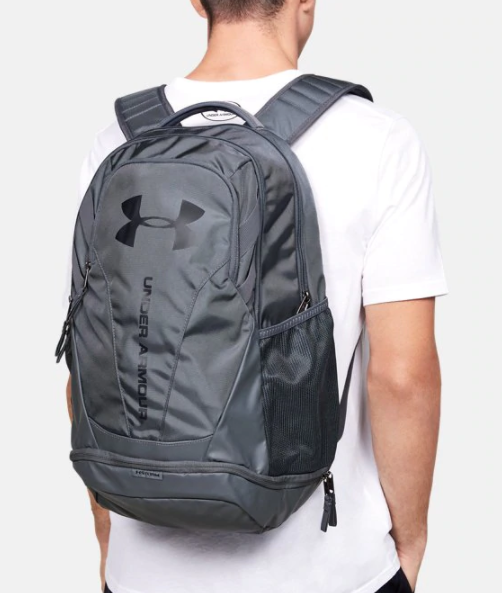Under Armour Adult Hustle 3.0 Backpack Gray 1294720-012