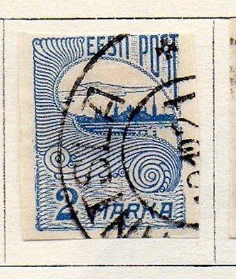 Estonia 1920 Early Issue Fine Used 2m. 103505