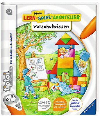 Ravensburger tiptoi Buch Mein-Lern-Spiel-Abenteuer Vorschulwissen 00663
