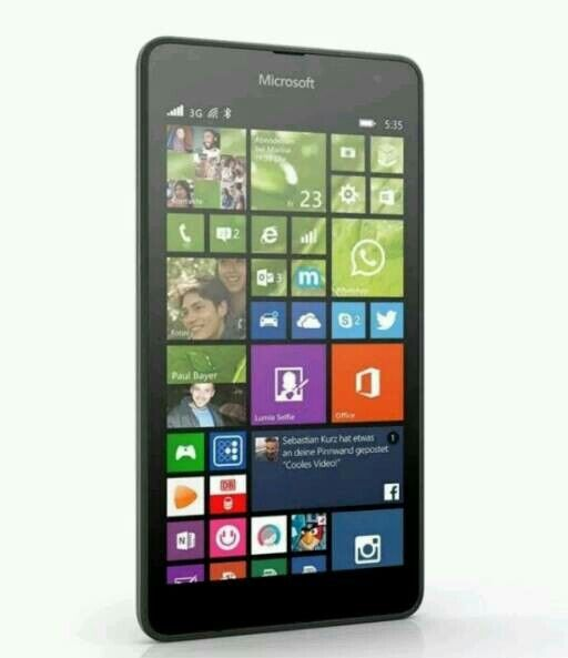 ( NewMicrosoft Lumia 535in Birmingham City Centre, West MidlandsGumtree - Hello im selling my Microsoft Lumia 535. MEW Product InformationTake advantage of a host of fun and useful features offered by the Microsoft Lumia 535 Smartphone. You can click beautiful selfies or engage in clear Skype video calls with its 5 MP,...