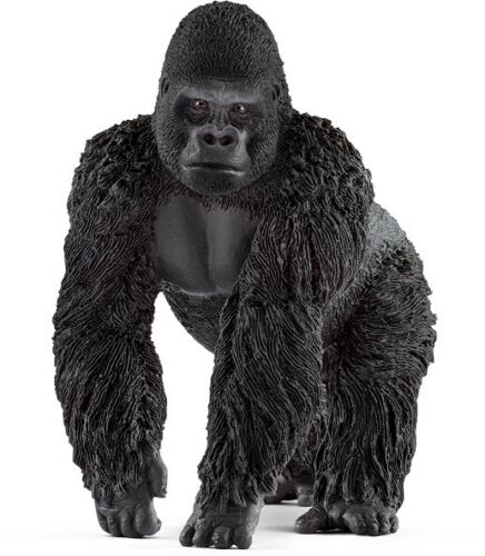 <><  14770 Gorilla male  Sweet strong Schleich Anywheres a Playground