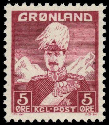 GREENLAND 2 (Mi2) - King Christian X (pa66025) NH