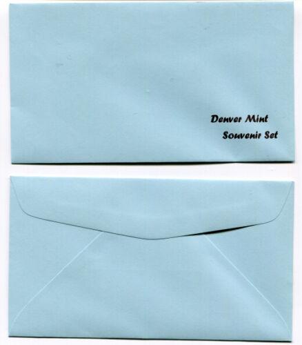 Replacement - Realistic facsimile Denver Mint Souvenir Set Envelopes