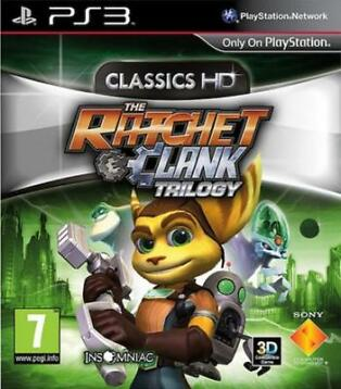 The Ratchet & Clank Trilogy (PS3) Garantie & morgen in huis!